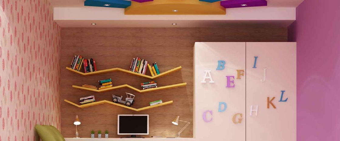 Designer Ceiling - Kid's Room