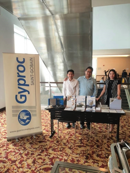 Gyproc Malaysia exhibits at FORWARD Conference image #03