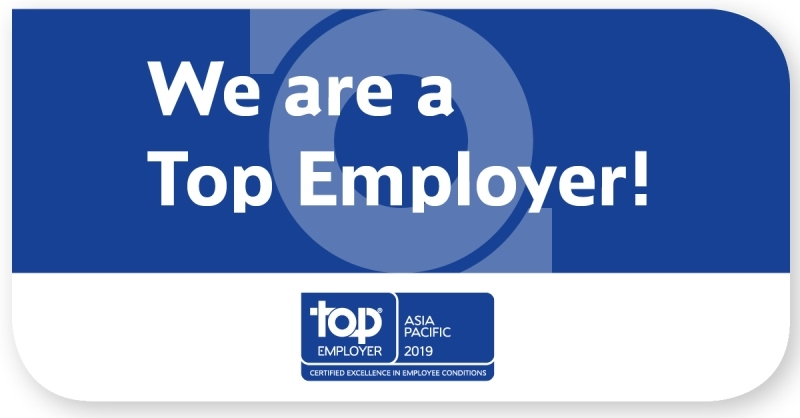 Top Employer Asia Pacific 2019 logo