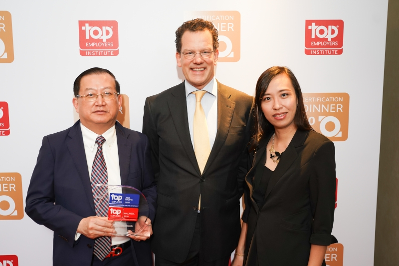 Top Employers APAC Certification Dinner image #03