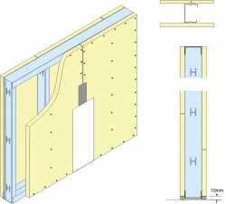 GypWall® ROBUST System drawing