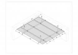 Gyproc® CLASSIC Concealed Ceiling System sketch