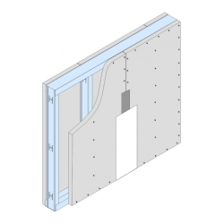 GypWall® CLASSIC System drawing