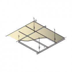 CasoLine® Grid Ceiling System sketch