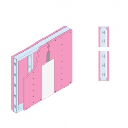 GypWall® CLASSIC Fire Rated Wall System sketch