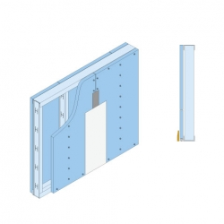 GypWall® CLASSIC Indoor Air Quality System sketch